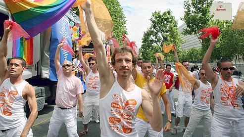 Le thème de la Gay Pride était cette année les discriminations à l'école.