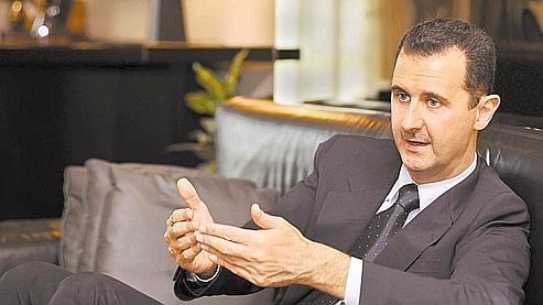 Bachar el-Assad : «Nous empruntons le chemin de la démocratie, c'est un long chemin» (photo : Présidence syrienne)