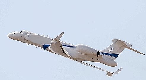 À l'annonce par Téhéran de tirs de missiles lors de manœuvres militaires, Tel-Aviv a réagi jeudi par la présentation de l'Eitam, un avion espion bourré d'électronique qui serait utilisé en cas de frappe aérienne contre l'Iran.