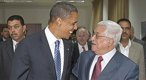 Après Jérusalem, Barack Obama s'est rendu à Ramallah, au QG de l'Autorité palestinienne, où il a rencontré Mahmoud Abbas. Le candidat démocrate a souhaité mercredi être un « acteur important » du processus de paix.