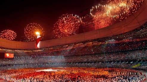 La flamme olympique illumine Pékin