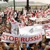 150.000 Géorgiens se sont rassemblés à Tbilissi pour soutenir Mikhaïl Saakachvili.