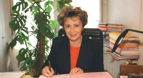 Françoise de Veyrinas à Toulouse le 15 mai 1995.