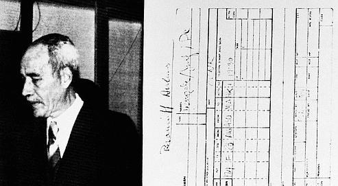 Josef Mengele, «l'Ange de la mort» d'Auschwitz.