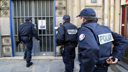 Des policiers en patrouille. (Photo Figaro/Marmara)