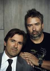 Christophe Lambert et Luc Besson (DR).