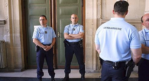 Gendarmes français