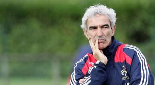 « Là j'ai tout fermé. Je suis dans le match contre la Roumanie », a déclaré vendredi Raymond Domenech, à Clairefontaine.