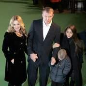 Madonna et Guy Ritchie avec Lourdes et Rocco.