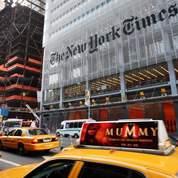 Le siège du New York Times, à Manhattan (AP Photo/Mark Lennihan, file).