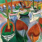 Raoul Dufy, «Barques à Martigues» (détail)