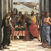La Mort de la Vierge d'Andrea Mantegna (détail)