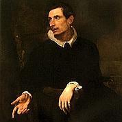 Antoon Van Dyck, «Portrait d'homme» (détail)