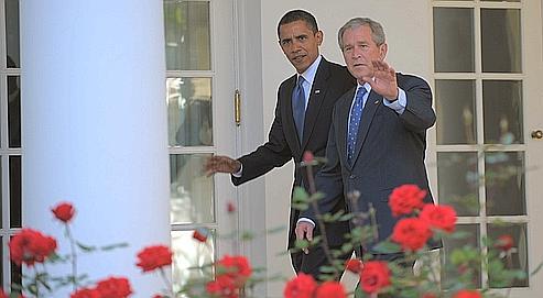 Les 77 derniers jours de Bush dans politique fd43729c-af62-11dd-97ed-4dc25ac71448