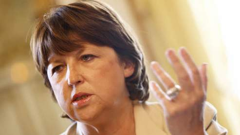 Aubry et Royal évoquentla «transformation» du PS