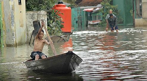 Les changements en termes de précipitations ont déclenché des inondations monstres paralysant la capitale début 2007.