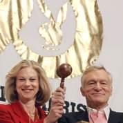 Hugh et Christie Hefner.