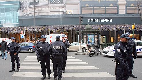 Menace d 39 attentats islamistes en france - Magasin le printemps paris ...