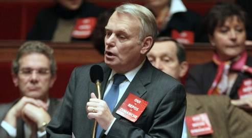 «La cohésion se construit sur la durée», explique Jean-Marc Ayrault, ici à l'Assemblée, mercredi dernier.
