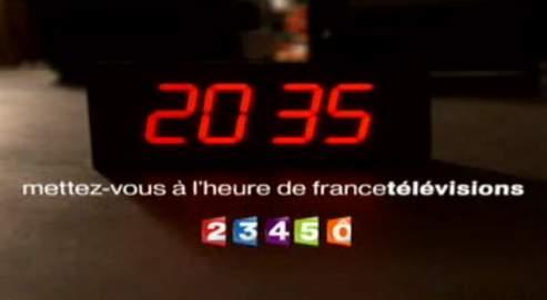 Il n'y aura désormais plus de spots publicitaires sur France 2, France 3, France 4 ou France 5 entre 20heures et 6heures du matin.