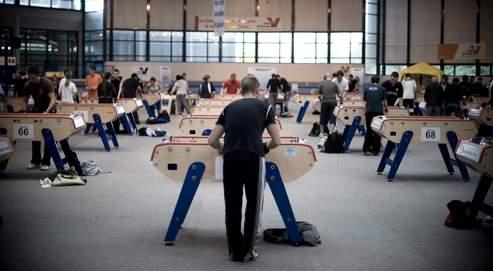 Le baby-foot ne compte que 800 licenciés à la fédération française mais 400000 personnes y jouent quotidiennement en France.