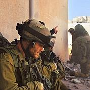 Un soldat israélien lors d'une opération à Gaza. (photo AP)