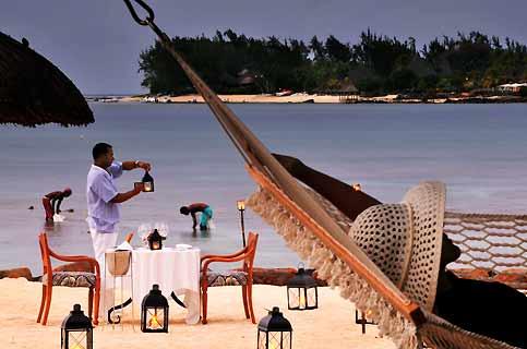 Face à la réserve marine, la plage du Grand Mauritian est l'écrin des amoureux.