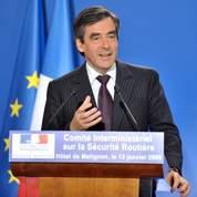 Le premier ministre François Fillon mardi à Matignon.
