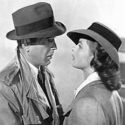 Casablanca, avec Humphrey Bogart et Ingrid Bergman.