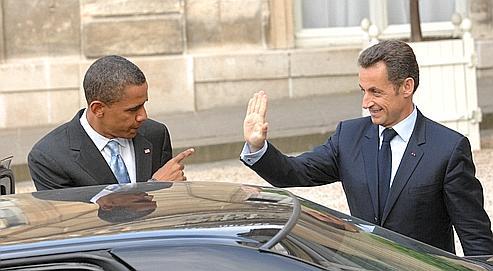 Pour Sarkozy, un «copain» américain qui sera un rival