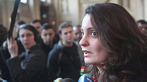 Karen Montet-Toutain, le 20 janvier dernier, à la cour d'assises d'appel de Paris. (AFP)