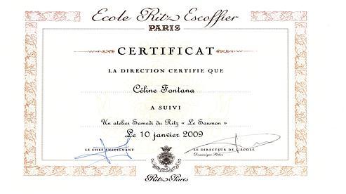 Suivez le chef l 39 ecole ritz escoffier - Cours de cuisine lenotre ...
