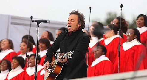 Le chanteur a été un des premiers artistes à soutenir le candidat démocrate Barack Obama. Rex Features/Rex/Sipa