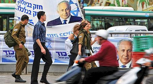 Deux des principaux candidats, Nétanyahou et Barak, ont déjà été premier ministre dans les années 1990.