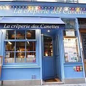 N°3 ex-aequo : La crêperie des Canettes, VIe. (François Bouchon)