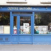 N°3 ex-aequo : La crêperie bretonne fleurie, XIe. (François Bouchon)