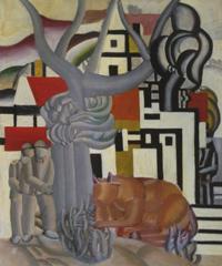 «Paysage animé», 1921