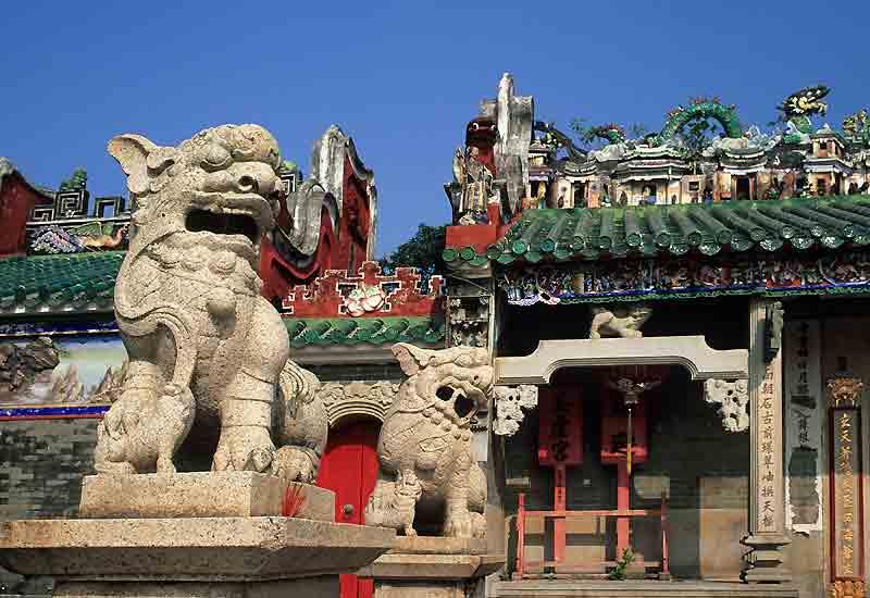 Le temple de Pak Tai (1783) à Cheung Chau.