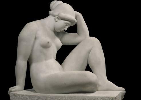 Aristide Maillol « La Méditerranée » 1905-1923 Statue, marbre Paris, musée d'Orsay Crédit : © photo Christian Baraja / Musée d'Orsay