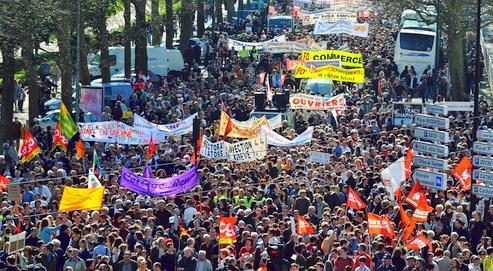 1,2à 3millions de personnes ont défilé jeudi en France.