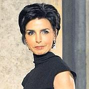 Rachida Dati, le 16 mars dernier lors du dîner présidentiel avec le président libanais. AFP