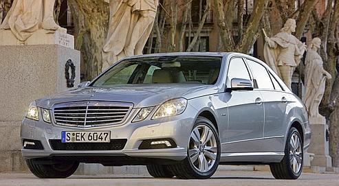 La nouvelle Mercedes Classe E ne consomme que 5,3 l avec des émissions de CO² de seulement 138g/km. (DR)
