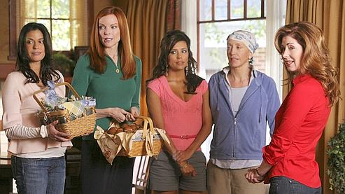 La tribu des actrices de «Desperate Housewives», saison 4.