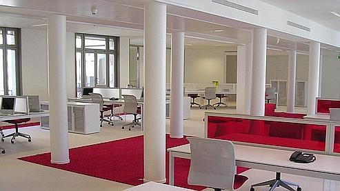 Le Figaro - L'entreprise : L'open space est-il forcément moins cher ?