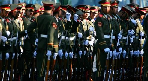 Les 14,9 % d'augmentation du budget de la défense sont destinés, officiellement, à améliorer les conditions de vie des soldats chinois.
