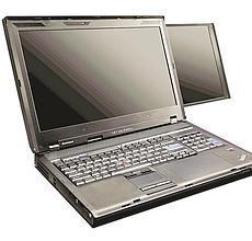 Robuste et puissant, l'ordinateur Lenovo ThinkPad W700 DS, à partir de 3 500€.