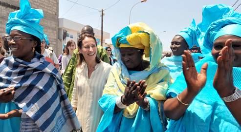 En déplacement à Dakar, Ségolène Royal a prononcé un discours sur «l'Afrique et l'Europe au XXIesiècle».