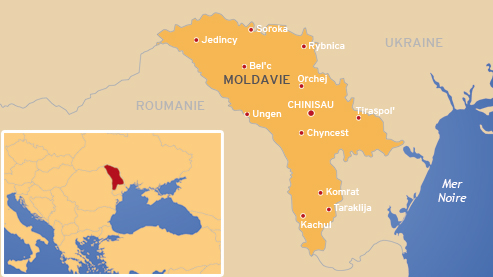 Avec un salaire moyen de 260 euros, le pays est l'un des plus pauvres d'Europe (Infographie lefigaro.fr).