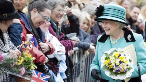 La reine dont raffole l'Angleterre en temps de crise