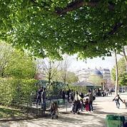 Parc Monceau (R.Vialeron / Le Figaro).
